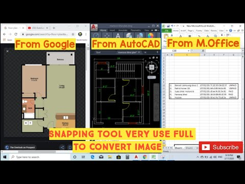 How to use Snipping tool from Microsoft to capture image 😎