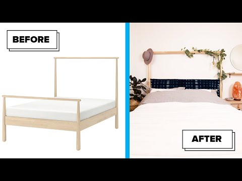 How To Transform An Ikea Bed Frame