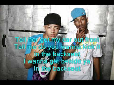 New Boyz - Backseat w/lyrics on Screen