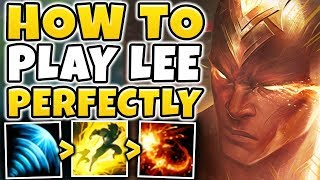 HOW TO PLAY LEE SIN PERFECTLY IN SEASON 9! MASTER TIER LEE SIN GAMEPLAY! - League of Legends