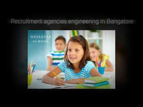 Recruitment agencies engineering in Bangalore