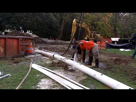 Dewatering Using Wellpoints - Jackson, NJ