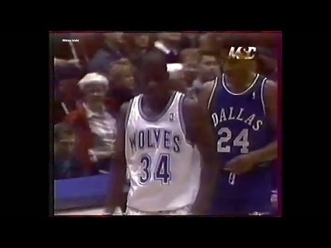 Dallas Mavericks @ Minnesota Timberwolves - 1996 - Full Game