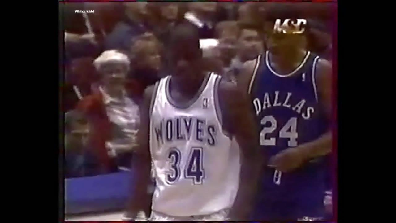 f8783c150 Dallas Mavericks   Minnesota Timberwolves - 1996 - Full Game - YouTube