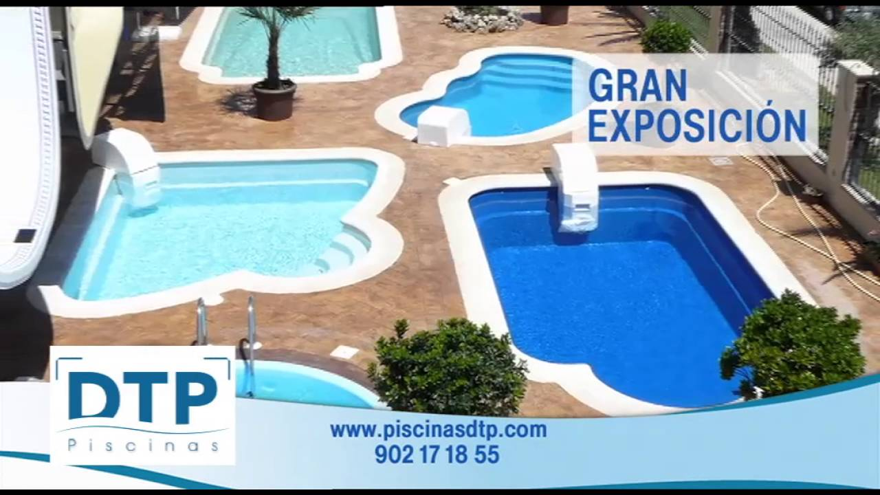 promo piscinas dtp youtube