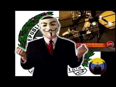 Anonymous Dirigido A La Policia Nacional De Colombia
