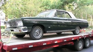 Picking up my new 1965 Ford Fairlane Sports Coupe: Road Trip to Rhode Island With My Dad
