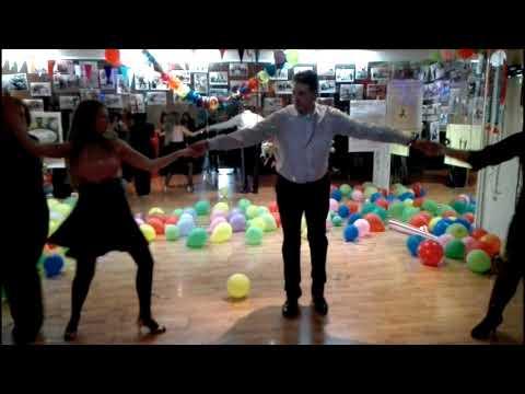 Fun Carnival Dancing 2018 - Karaoke ΝΤΑΛΚΑΣ Night - Σχολή Αγίων Αναργύρων