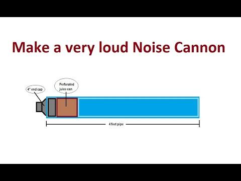 Make a VERY LOUD Air Cannon