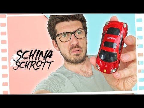 Es gibt Auto-Handys? WTF!? #SchinaSchrott