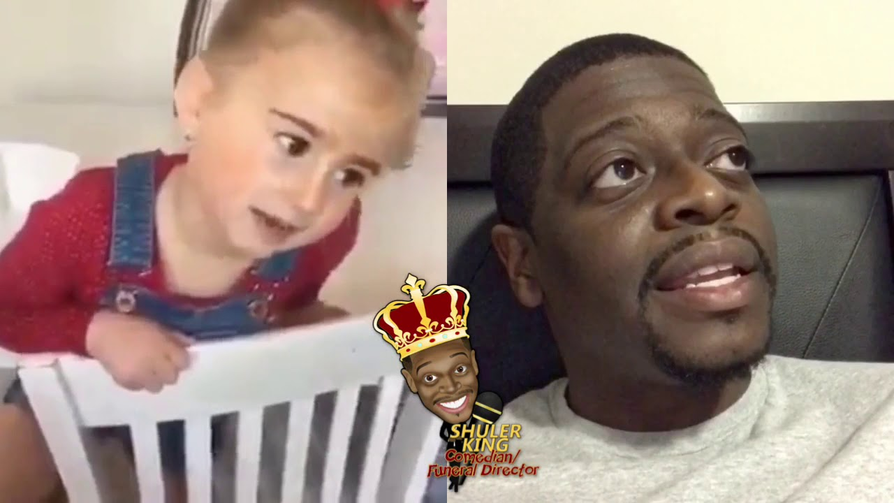 Shuler King - Little Girl Eats Her Mother's Cake And Blames It On A Black Man !!!