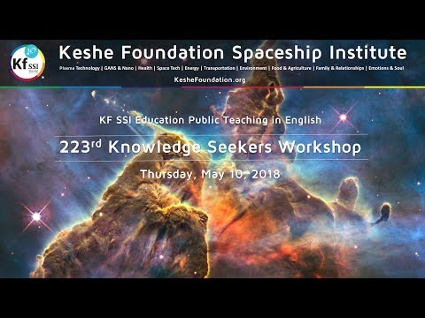 223rd Knowledge Seekers Workshop, May 10, 2018
