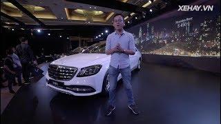 Tìm hiểu nhanh Mercedes-Benz S-Class 2018 giá từ 4,2 tỷ mới ra mắt tại VN |XEHAY.VN|