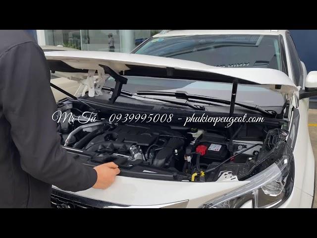 Phụ kiện Ty thuỷ lực nắp capo xe Peugeot 3008 all new Peugeot 5008