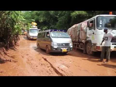 W/R- Farmers cry over bad nature of Asankragua-Saah road
