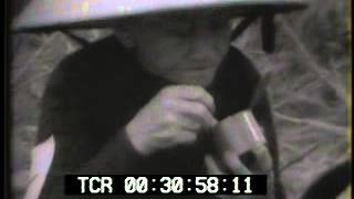 Vietnam War - Danang US Marines Round up VC Newsreel and Archival Footage