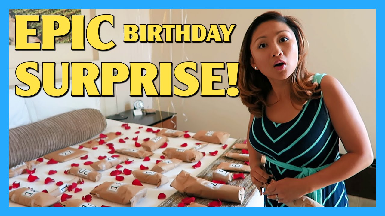 Epic Birthday Surprise Apriljustintv Youtube