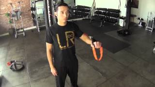LR WORKOUT one arm chest press Thumbnail