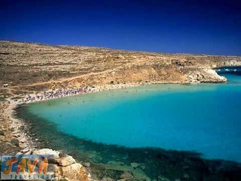 Rabbit Beach Lampedusa Islands Of Sicily