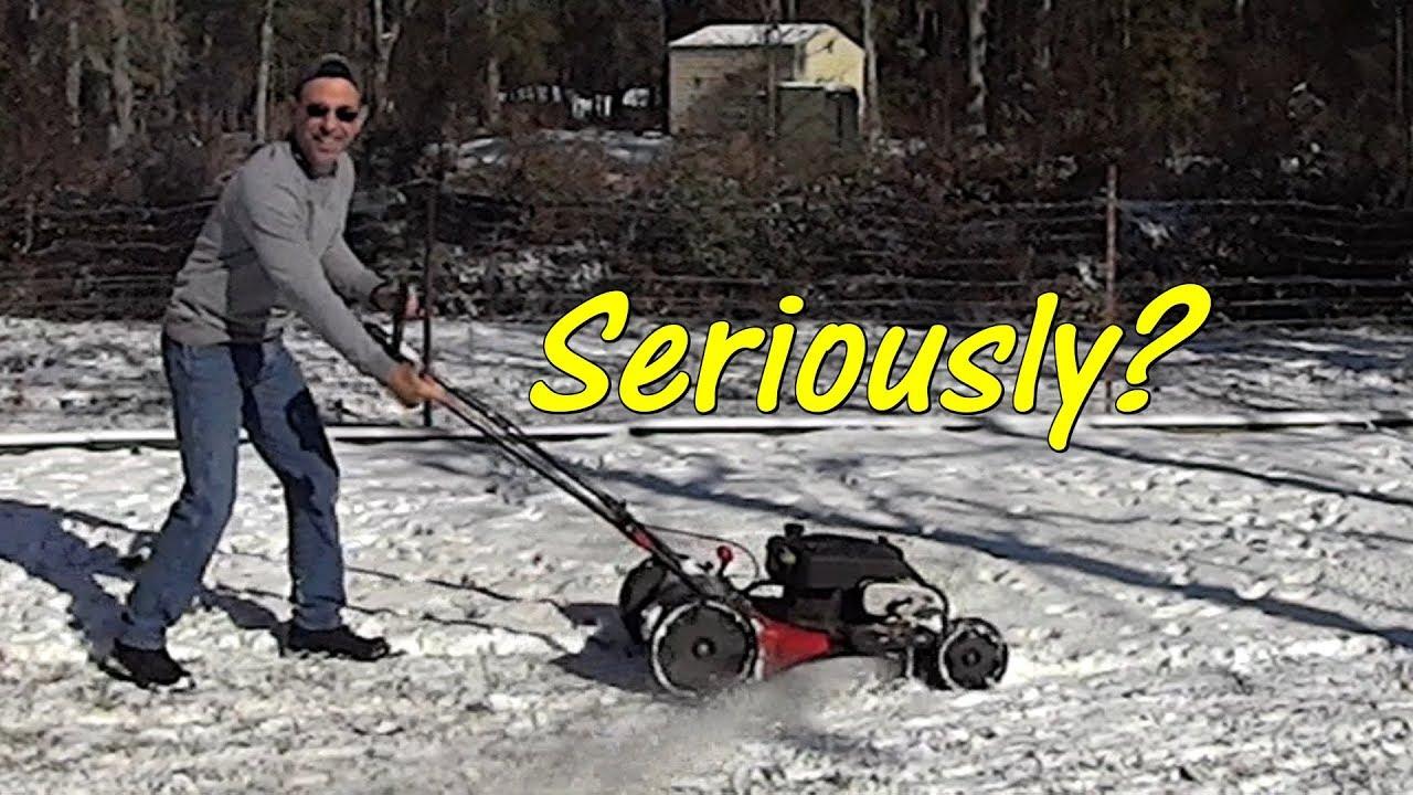 Grass Snow Cutting Video - Q &A - YouTube