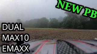 DUAL MAX10 BRUSHLESS EMAXX: NEW PB..!!!