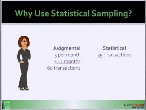 Why Use Statistical Sampling?