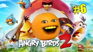 Annoying Orange - Angry Birds 2 #6: Stars For Everyone!