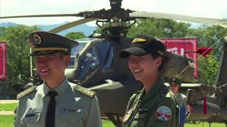 Taiwan holds ceremony for Apache helicopter fleet