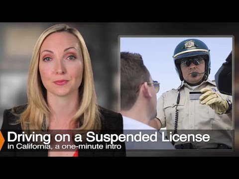 Learn Why Driving On A Suspended License Can Be Worse Than A DUI - VC 14601