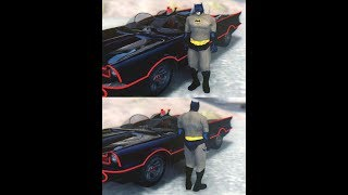 The Diary Batman plays with cars