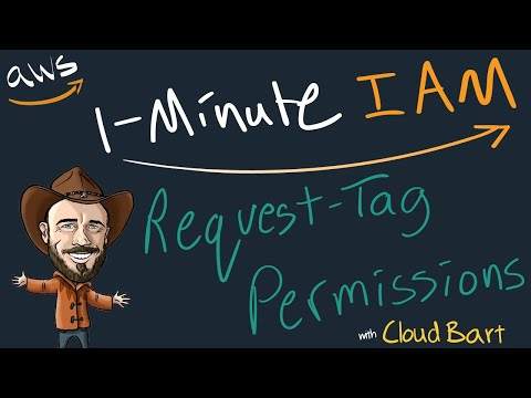 Limiting Resource Tag Keys & Values At AWS - 1-Minute IAM Lesson