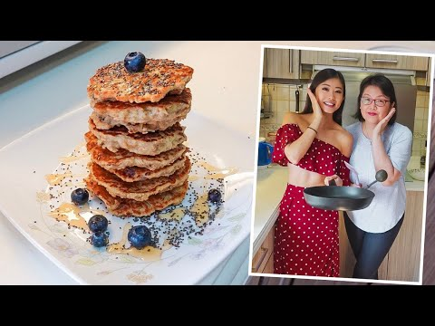 Low-Carb, High-Protein, Three-Component Pancakes