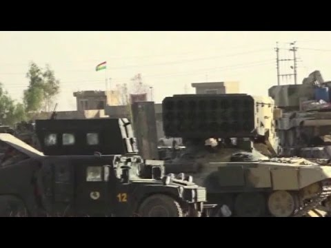 Peshmerga forces 5 miles from Iraq's Mosul