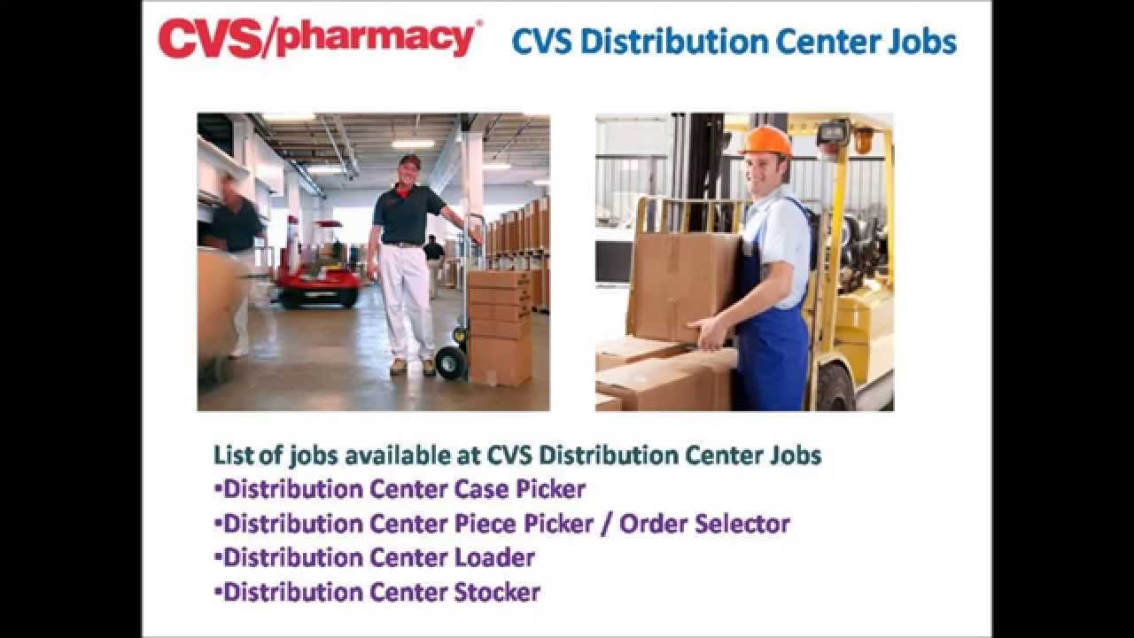 cvs pharmacy distribution center jobs video