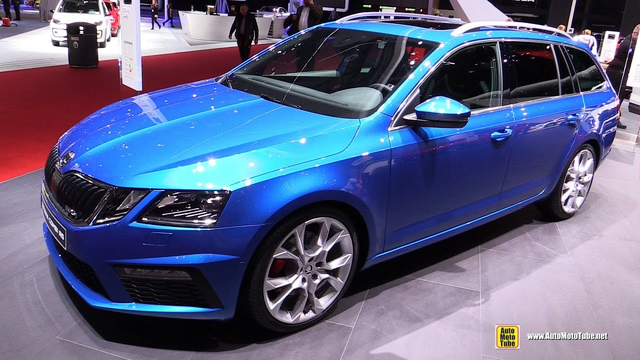 2017 skoda octavia combi rs exterior and interior walkaround 2017 geneva motor show youtube. Black Bedroom Furniture Sets. Home Design Ideas