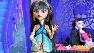 Видео с куклами серия 3 Монстер Хай, кукла Клео Де Нил готовит мороженое из Плей До(Видео с куклами серия 3 Монстер Хай, кукла Клео Де Нил готовит мороженое из Плей До., 2015-08-17T12:24:03.000Z)
