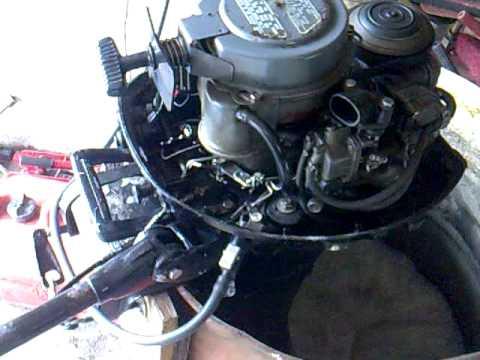 honda outboard 7 5hp fourstroke 1986 youtube rh youtube com Old Honda Outboard Motors honda b75 outboard parts