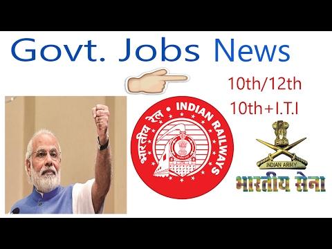 New Govt Jobs For 10th pass|10th+I.T.I |12th pass & Graduates