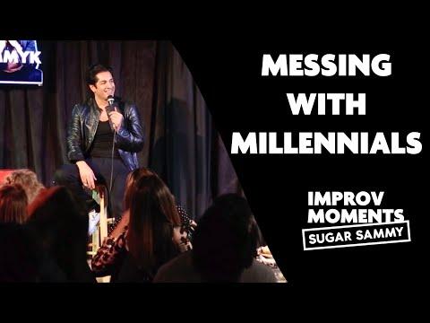 Sugar Sammy: Messing with millennials