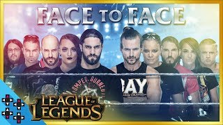 WWE vs. NXT: LEAGUE OF LEGENDS - In-Ring FACE OFF!