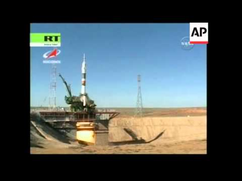 Launch of Soyuz spacecraft, SKorea's first astronaut