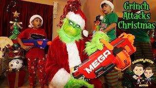 GRINCH ATTACKS CHRISTMAS | D&D SQUAD BATTLES