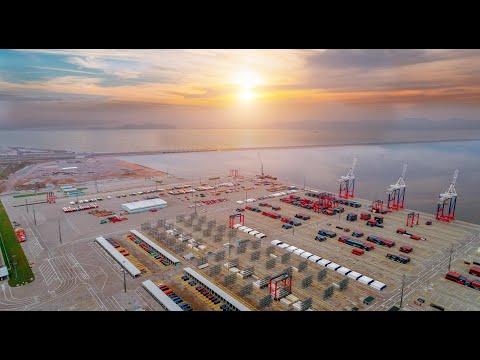 Развитие инфраструктуры Северо Запада — сюжет «Пятого канала»