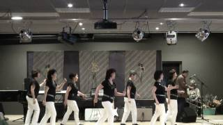 Aryati - Line Dance - by The Cherry Blossom Dancers ( NL/Mar.11) - Demo -