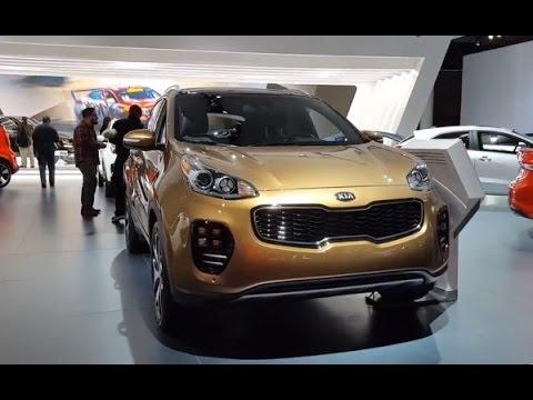 Original 2017 KIA Sportage Review  Walkaround Features