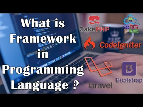 What is Framework in programming language ? in Hindi