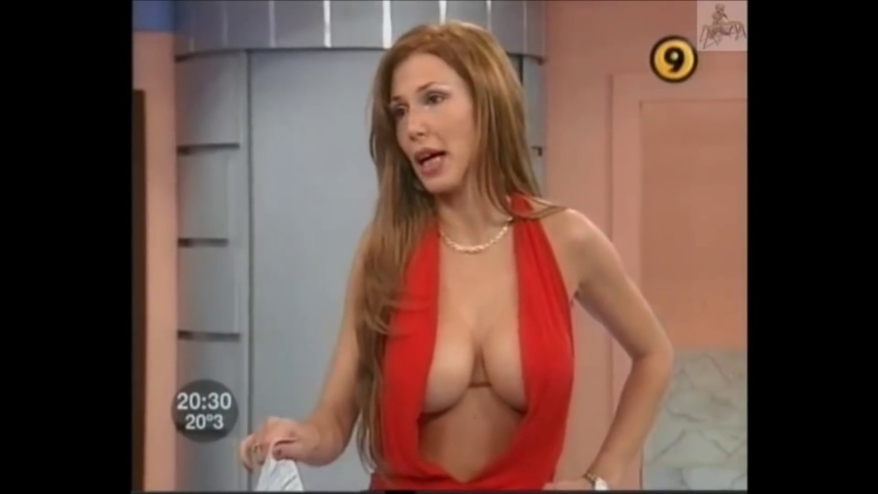 nice tits live in tv show ! - youtube