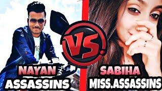 ASSASSINS VS MISS.ASSASSINS CUSTOM HIGHLIGHTS /FUNNY MOMENTS #AssassinGaming