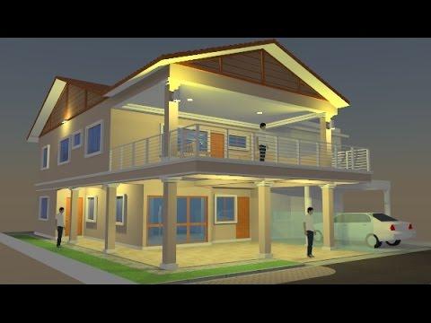 Rekabentuk Ubahsuai Rumah Teres 2 Tingkat End-lot di Kemuning Greenville Seksyen 32 Shah Alam - YouTube & Rekabentuk Ubahsuai Rumah Teres 2 Tingkat End-lot di Kemuning ...