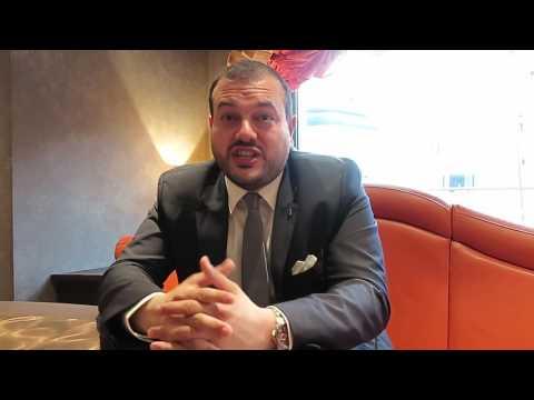 Antonio Paradiso, Managing Direct, Britain & Ireland, MSC Cruises, in Dublin, May 13, 2017